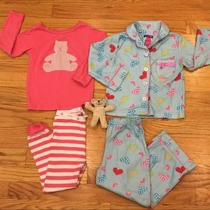 Baby Gap & Greendog Pajama Set Bundle Size 2/3